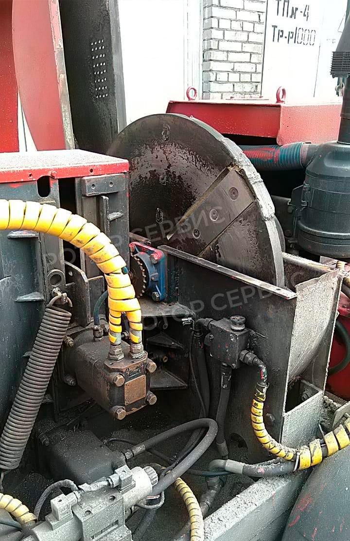 Балансировка колеса дробилки