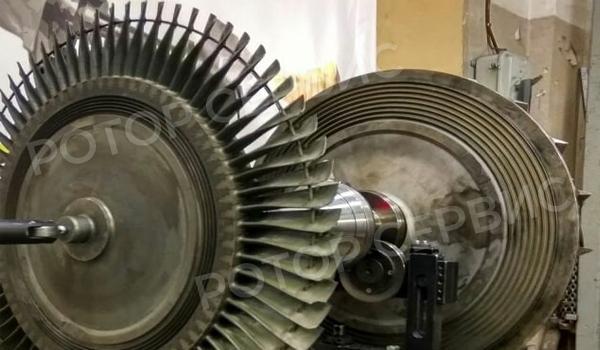 Балансировки ротора турбин