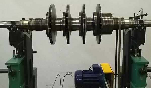 Балансировка ротора насоса