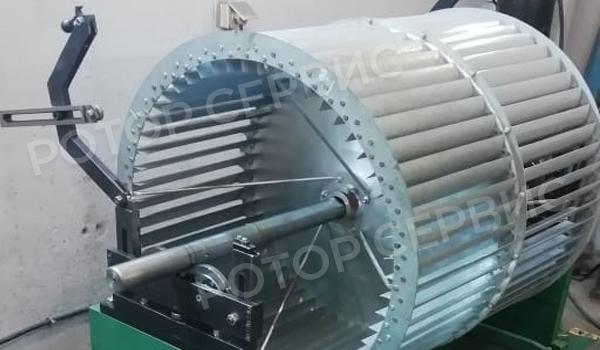 Балансировка тангенциального вентилятора