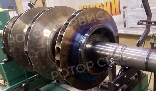 Ремонт роторов компрессора