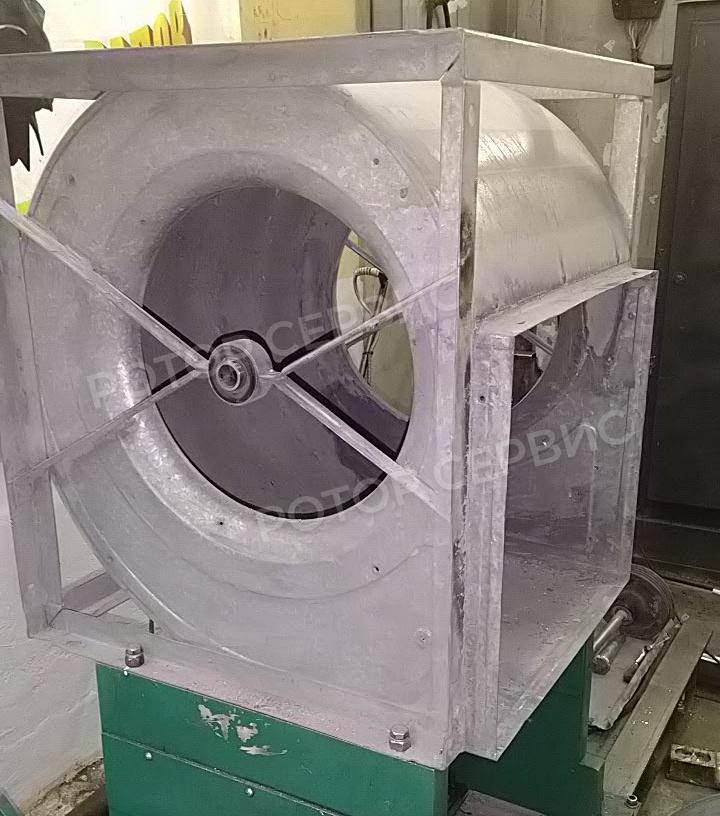 Ремонт тангенциального вентилятора