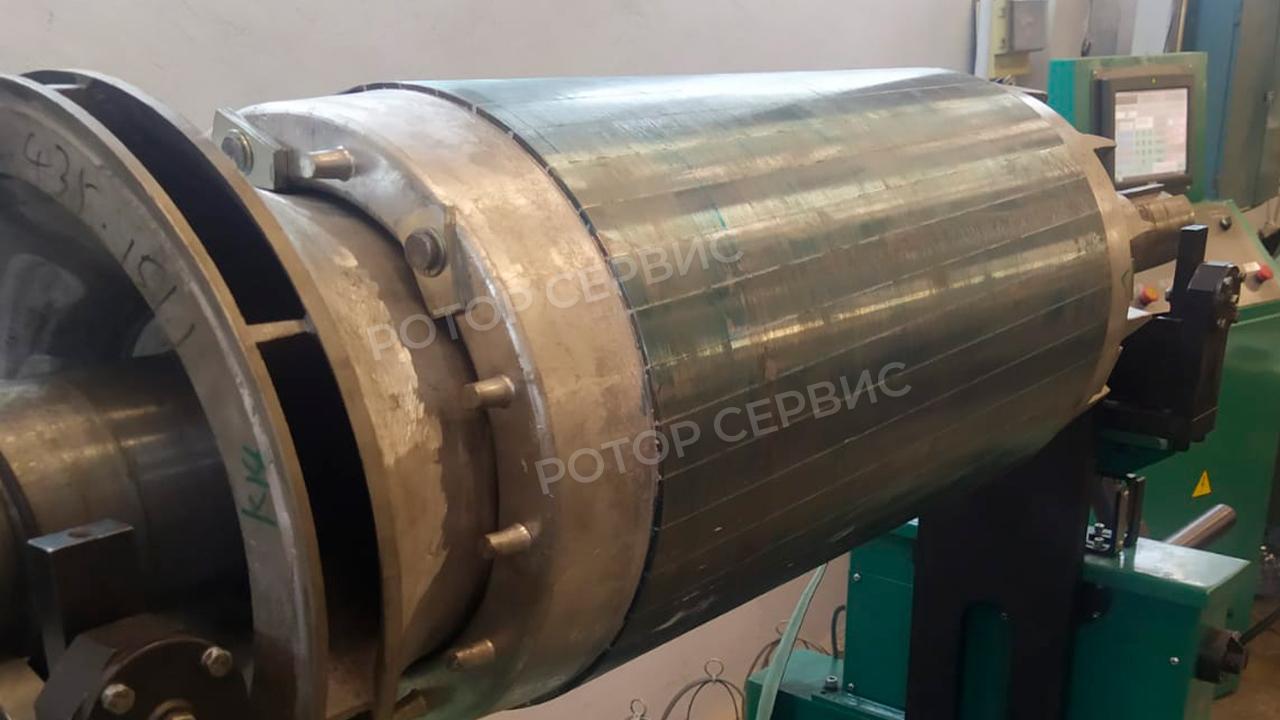 Балансировка ротора электродвигателя-7