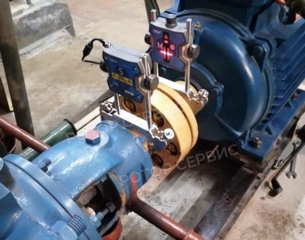 Лазерная центровка валов агрегатов