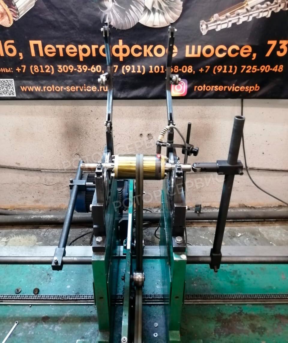 Балансировка асинхронного ротора-2