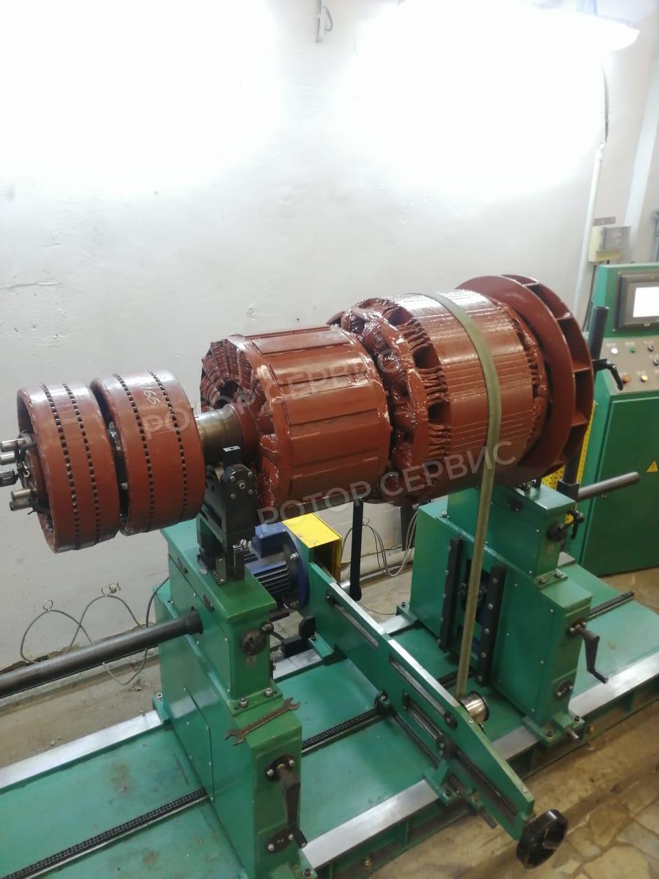 Балансировка ротора генератора