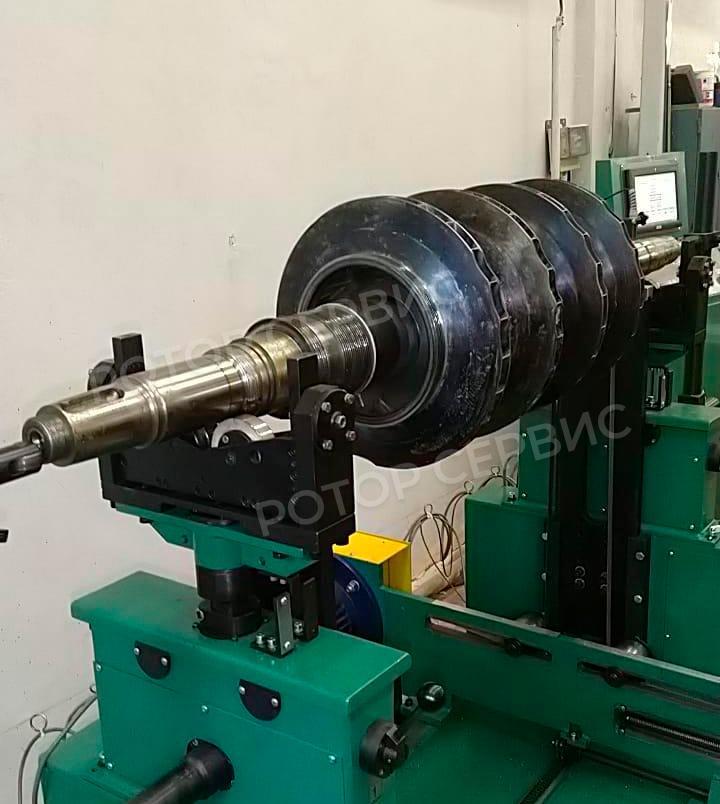 Балансировка ротора насоса-1