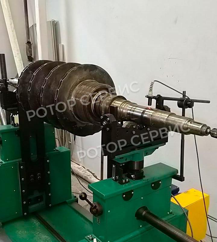 Балансировка ротора насоса-2