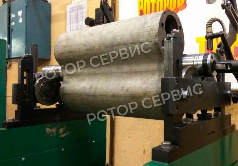 Балансировка ротора насоса РУТСа-1