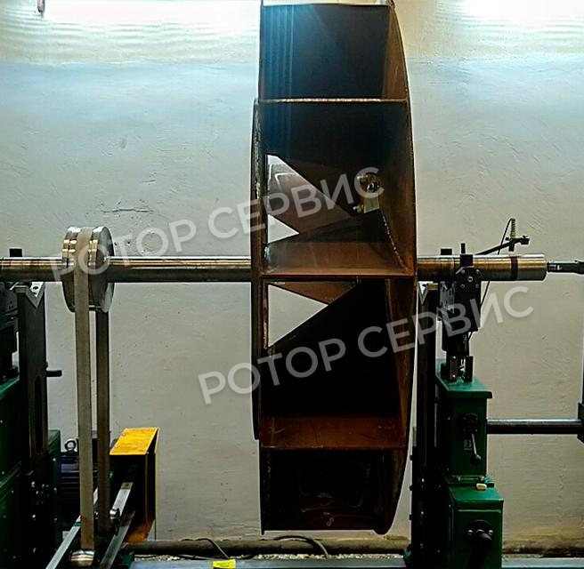 Балансировка вентилятора дымососа-4