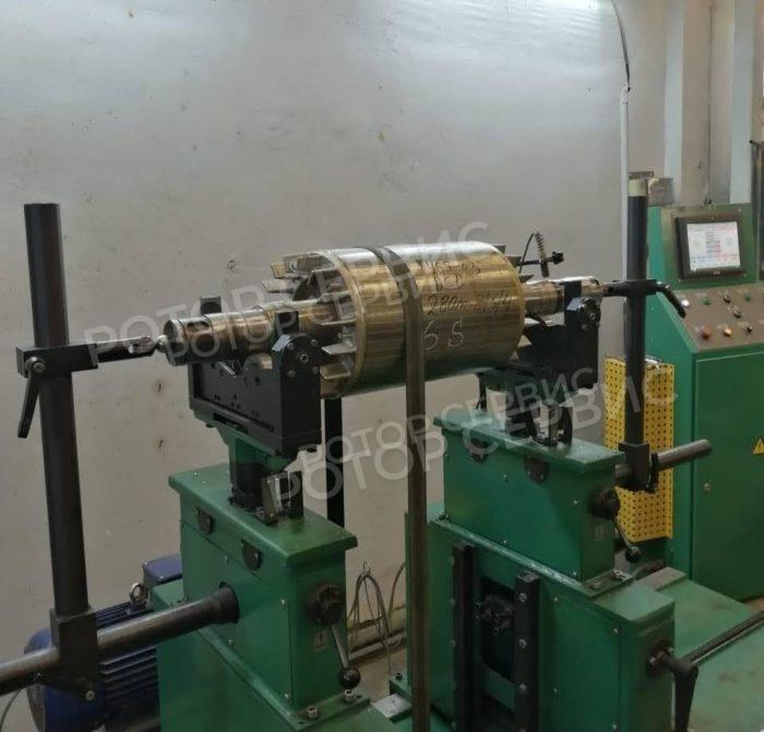 Балансировка ротора асинхронного двигателя
